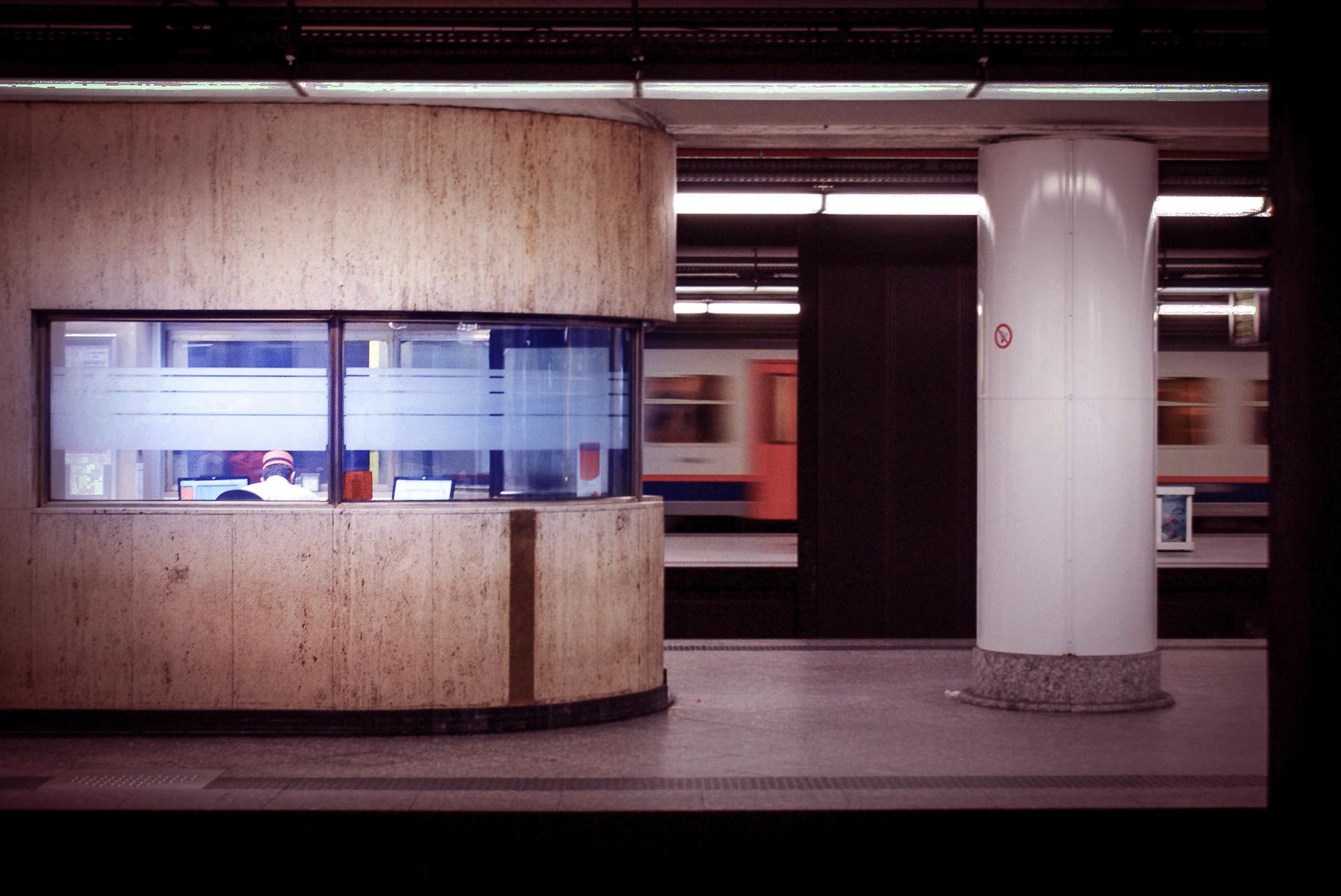 Shift de soir  . Photo par Raphaël Thibodeau