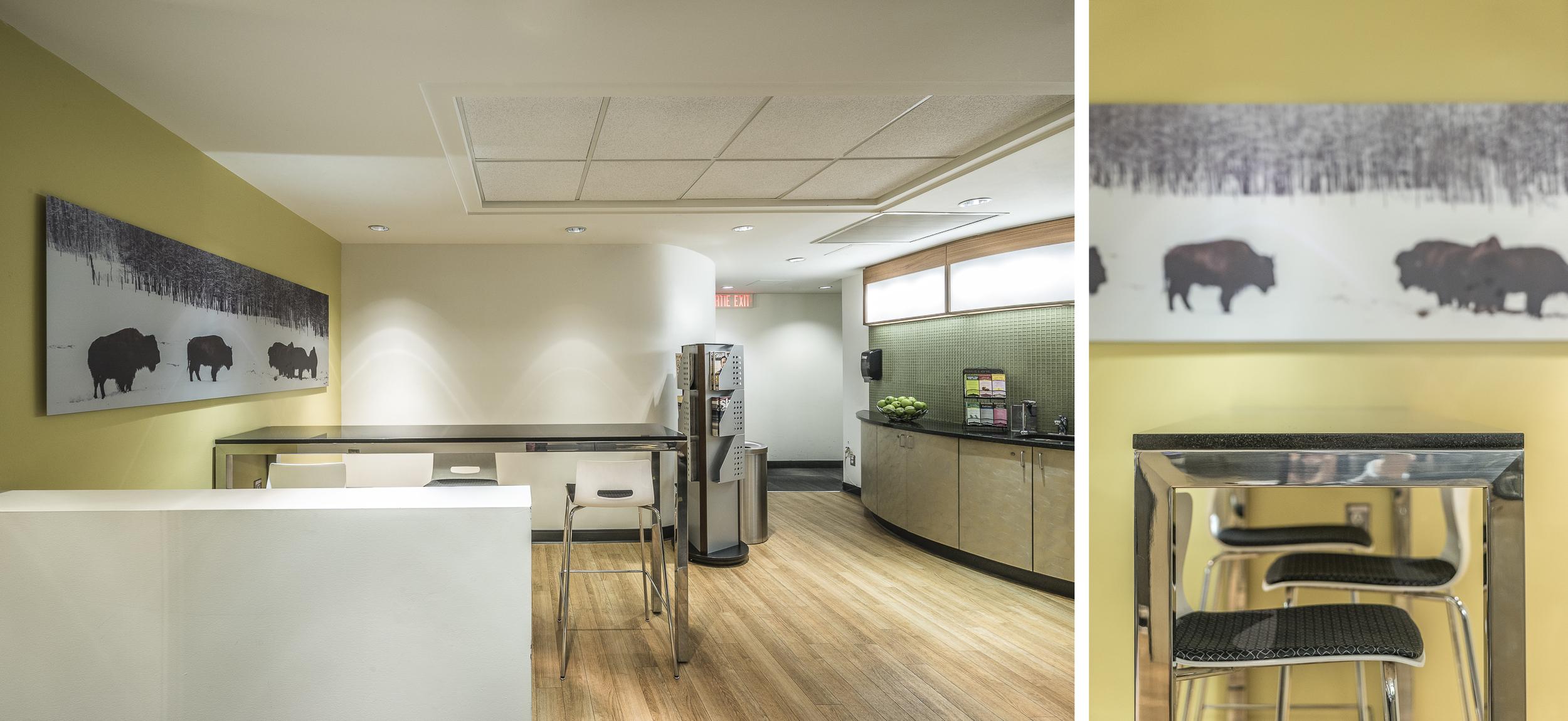 Salon d'affaires Via Rail /  GCBD Architectes