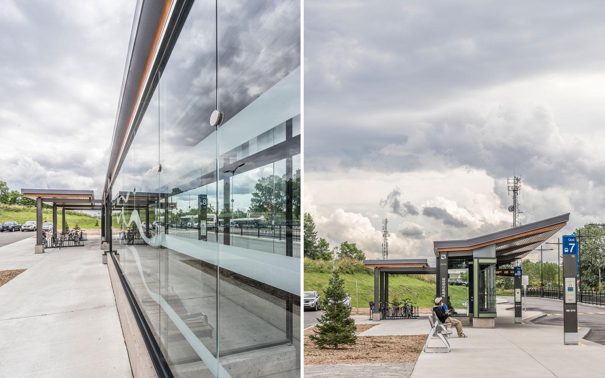 Station Labrosse - Rapibus /  GCBD Architectes