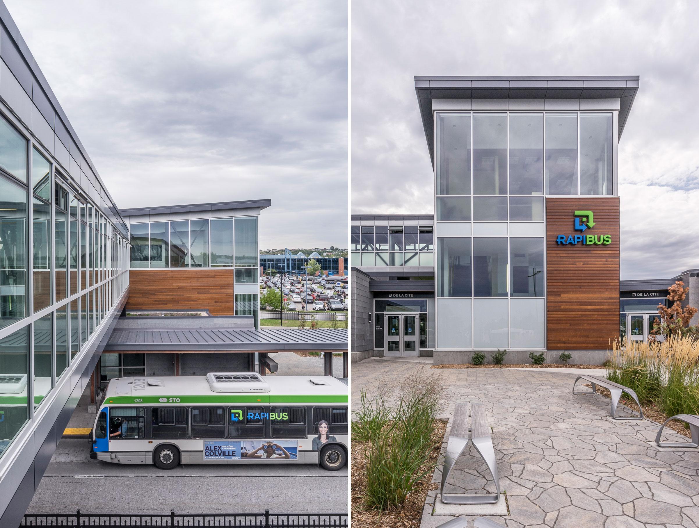 Station De la Cité - Rapibus /  GCBD Architectes