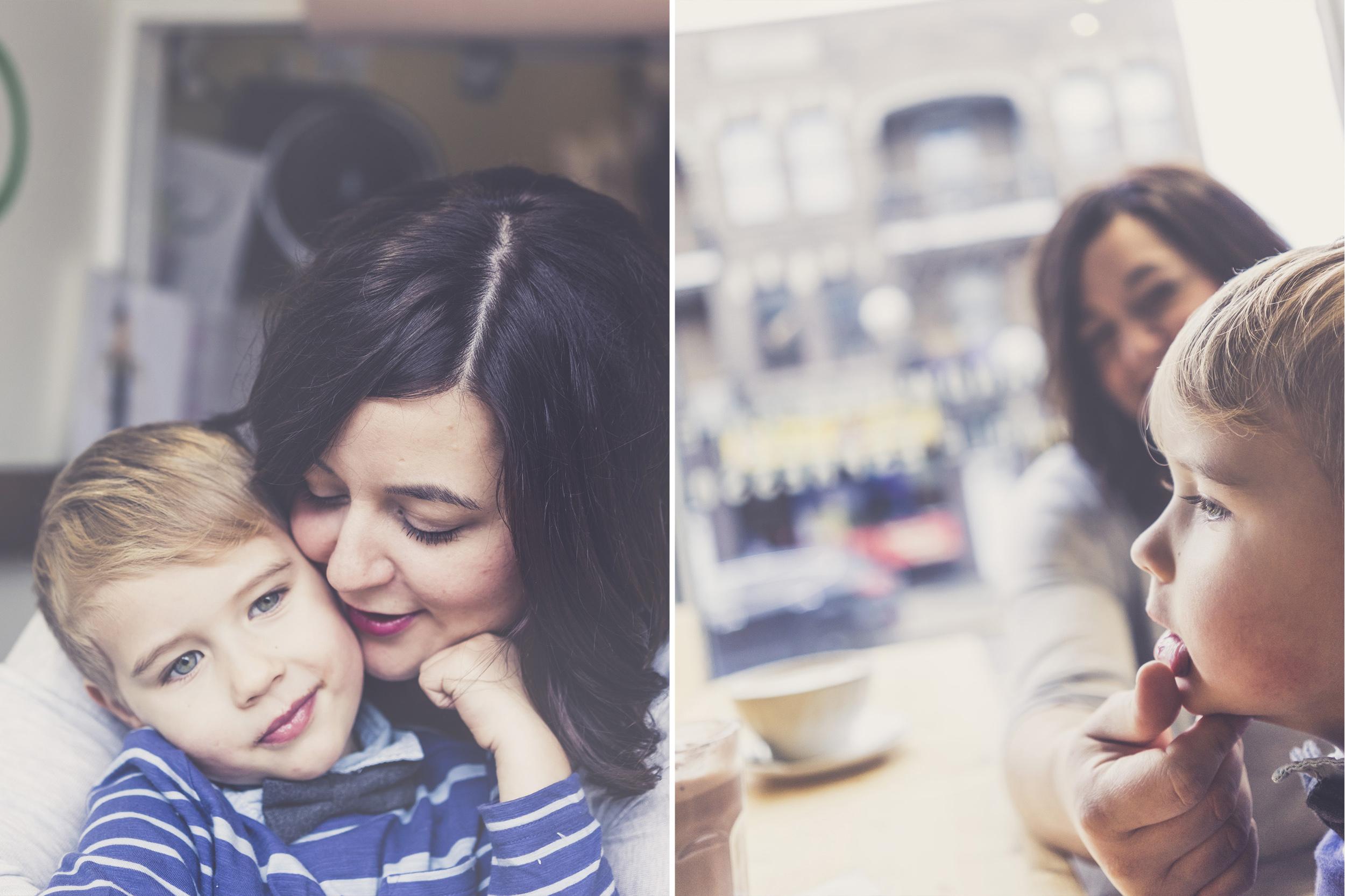 Famille Brigitte + Édouard
