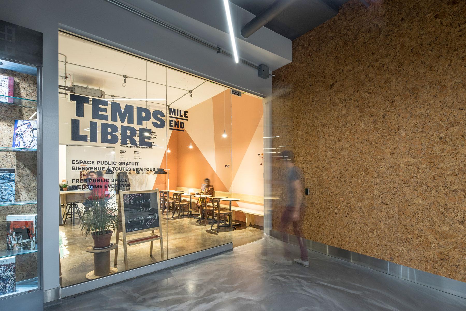 coop  Temps Libre  design:  Catherine Catherine  © Raphaël Thibodeau