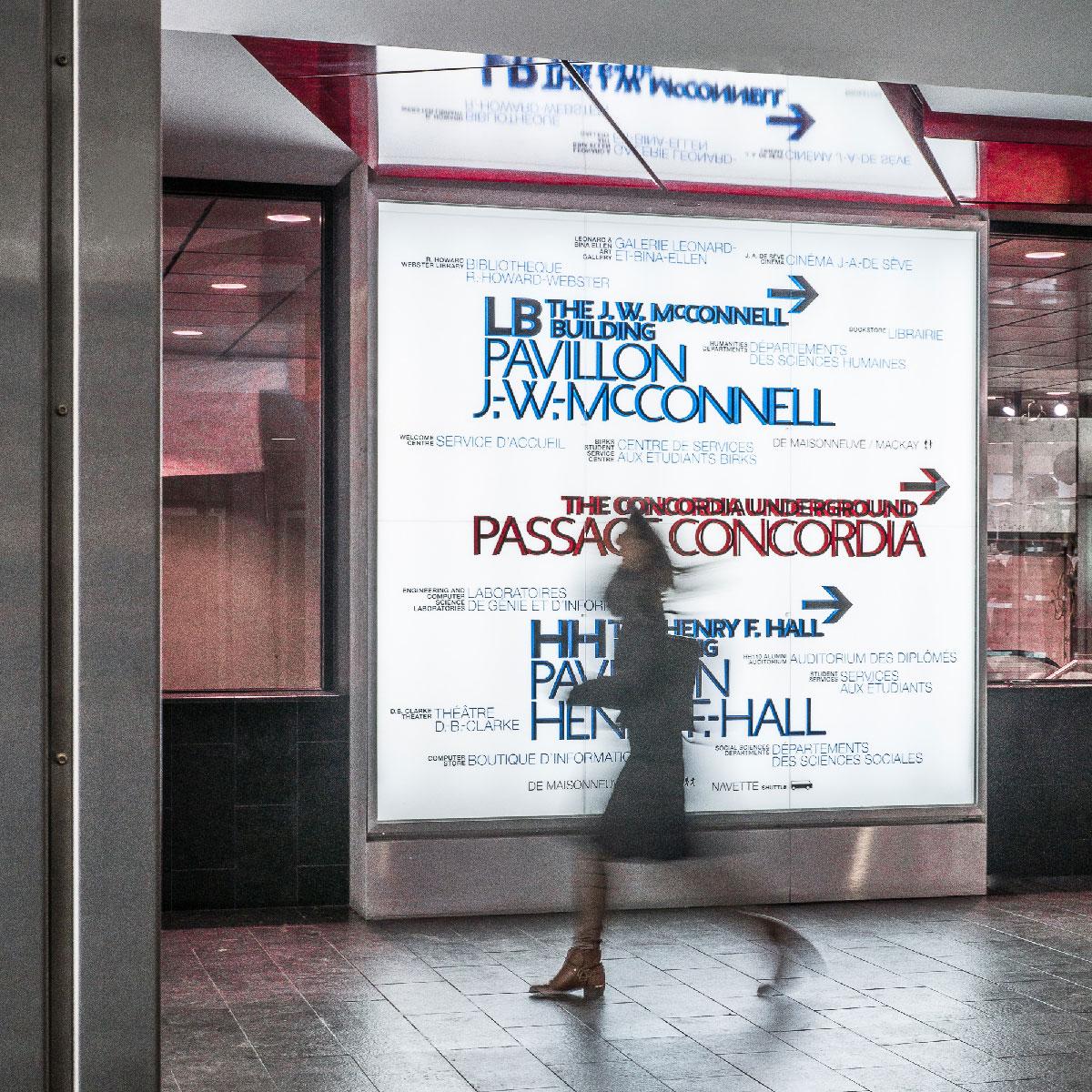 Affichage U. Concordia