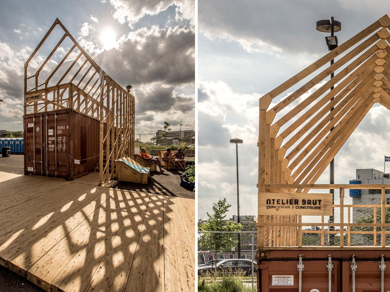 Le Perspectographe / Atelier Brut + Charles Laurence Proulx et Rémi St-Pierre © Raphaël Thibodeau