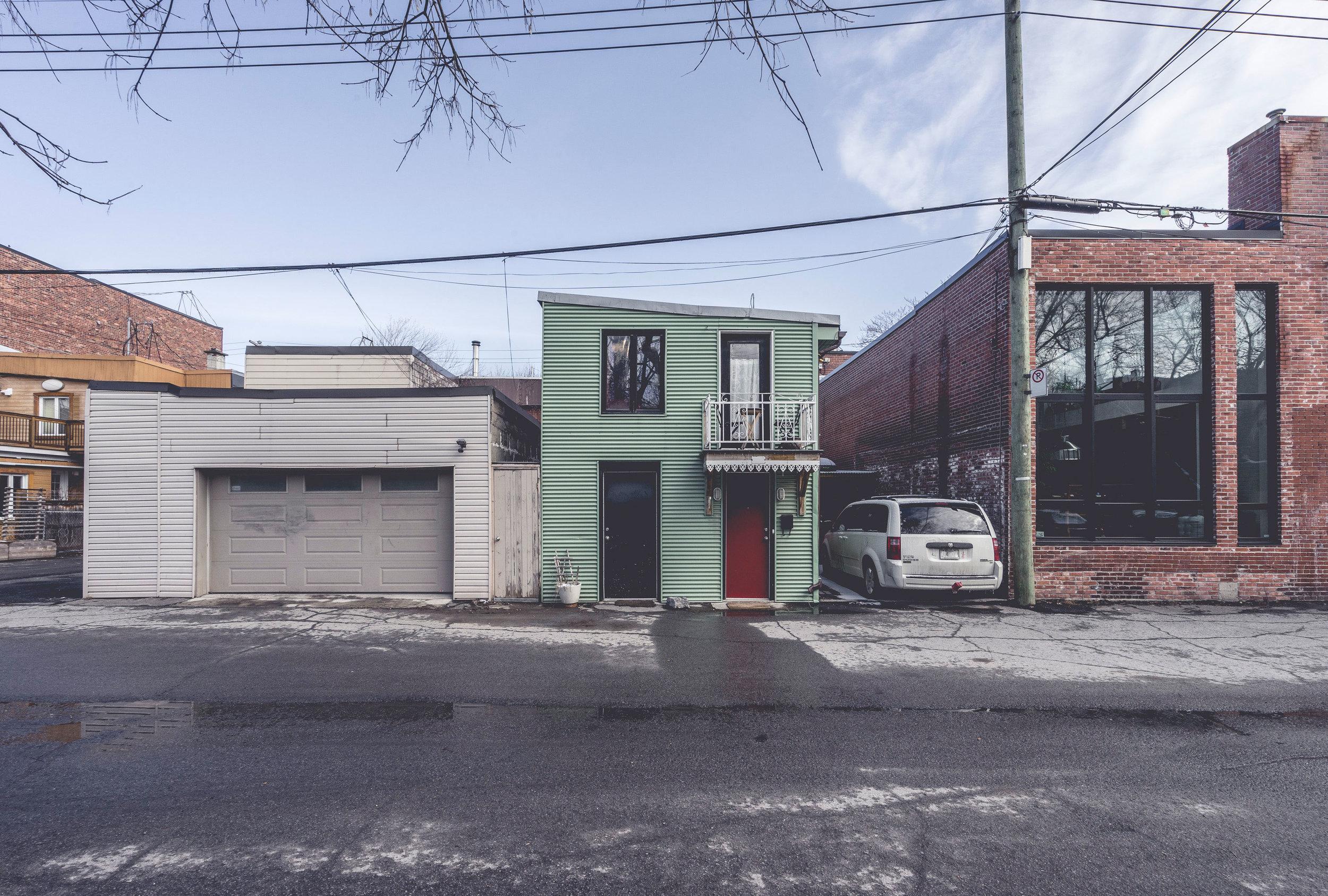 Vu à Montréal / Vie de ruelle © Raphaël Thibodeau