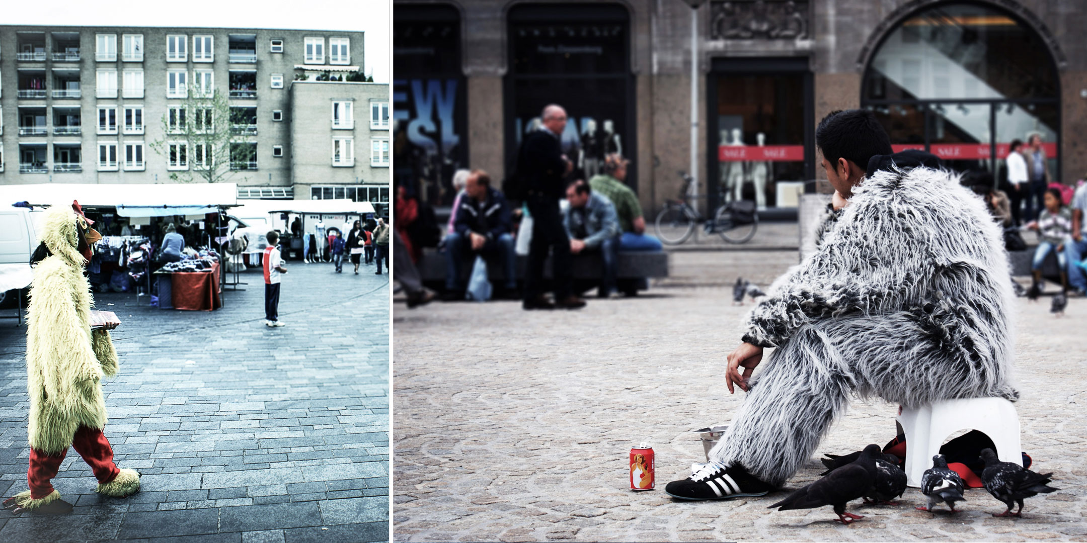 Petites personnes / travail d'été © Raphaël Thibodeau