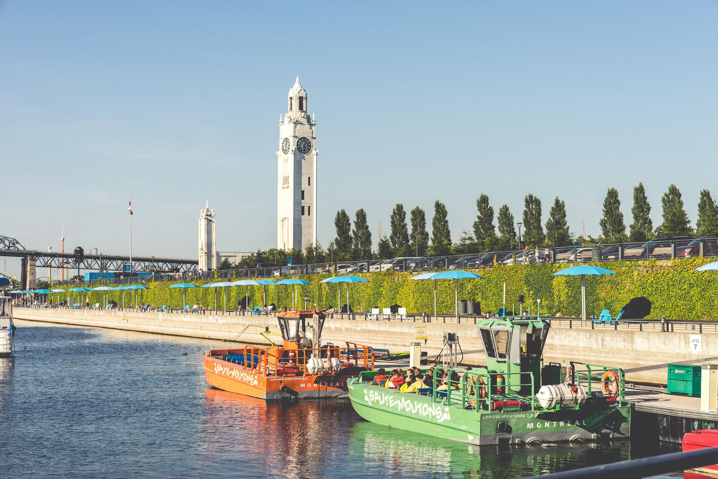 <<<<< BACK  Plage du quai de l'horlogue -  C  laude Cormier + Associés  © Raphaël Thibodeau