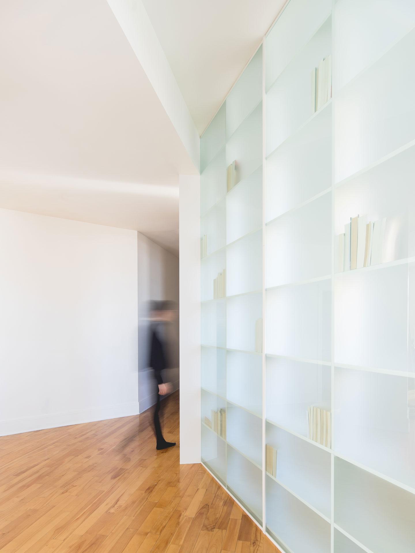 Paroi-bibliothèque