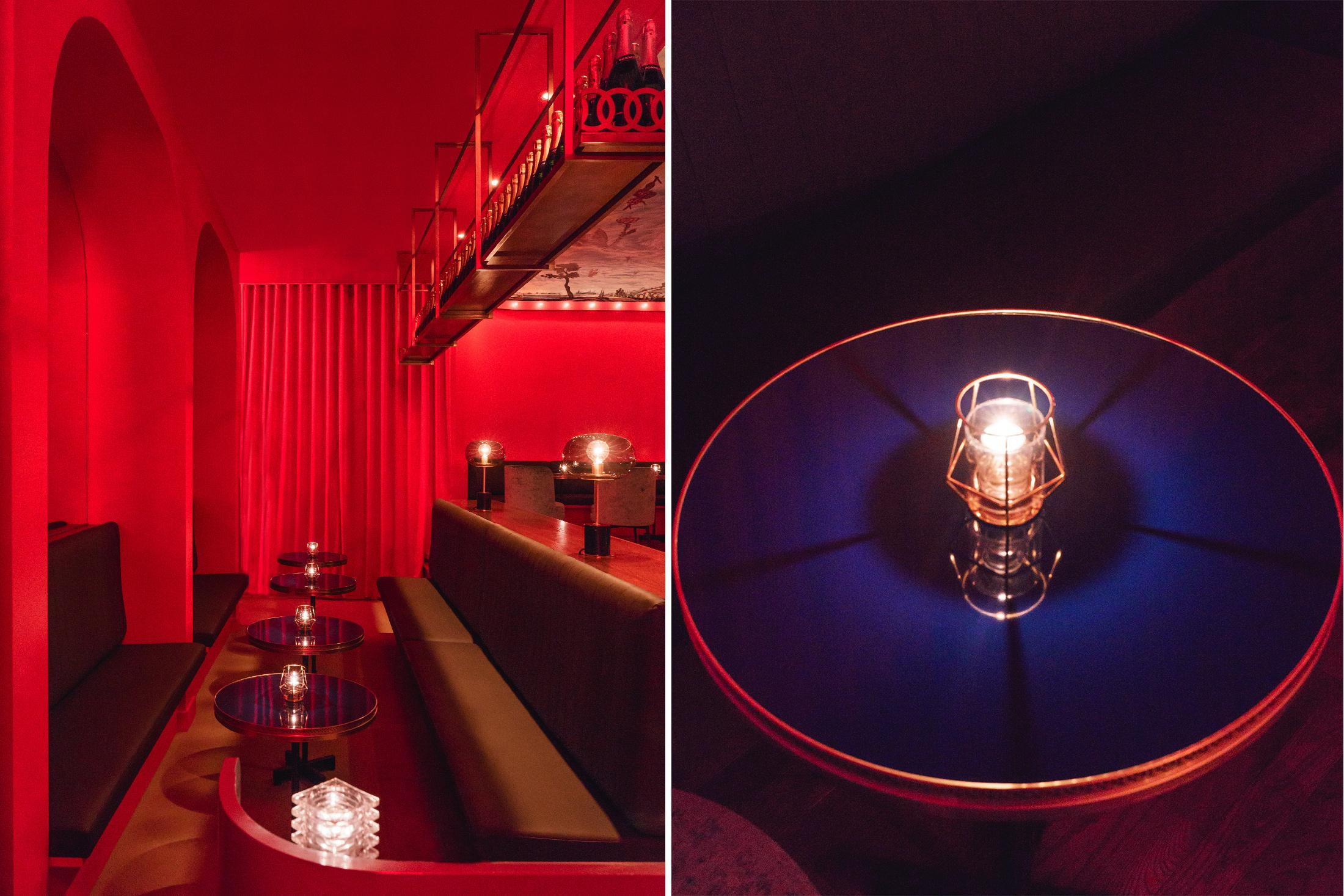 <<<<<  BACK  Bar Vol de nuit, par  Alain Carle Architecte  © Raphaël Thibodeau