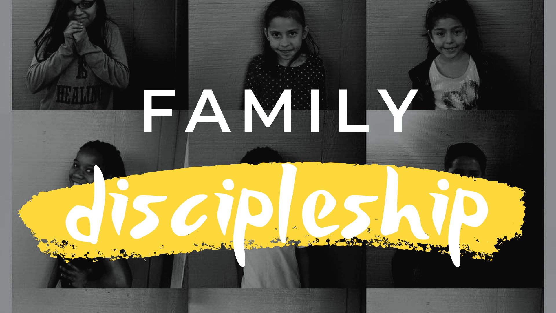 Growing closer to Jesus as a family - 2019 May