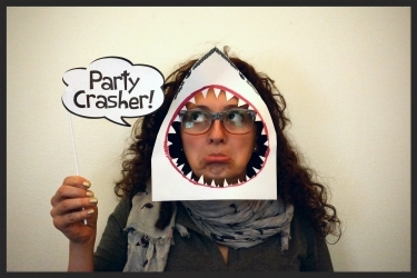 Creation Station Self Portrait: Representing the carcharhinids. Who is the real party crasher?