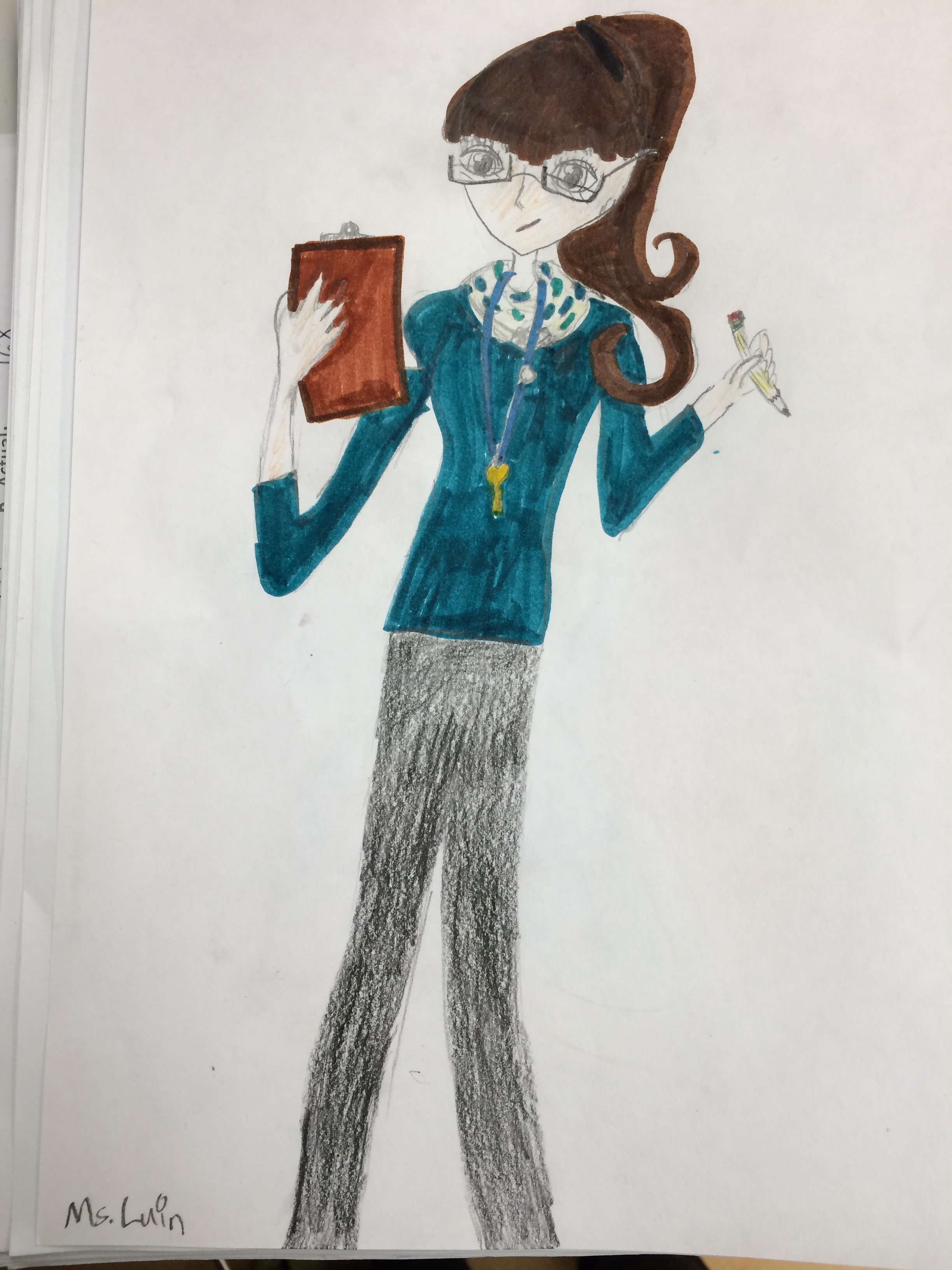 How my students view me.
