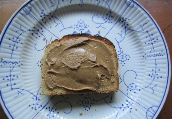 toast almond butter