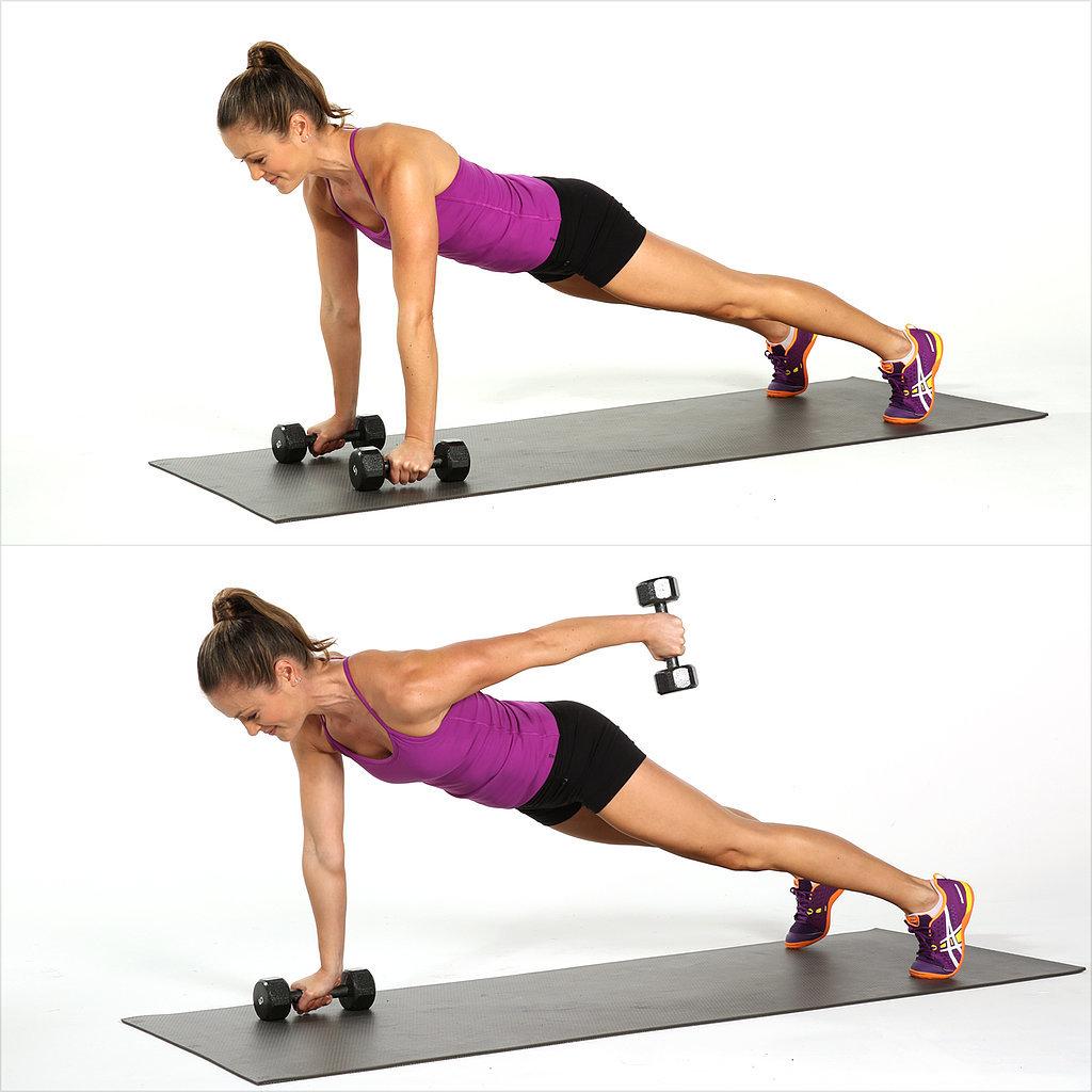 Plank-Straight-Arm-Kickback