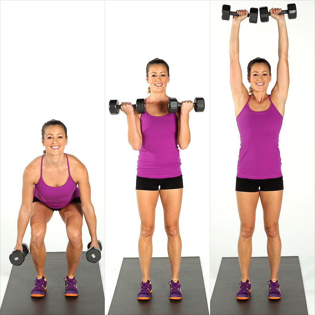 Squat-Curl-Press