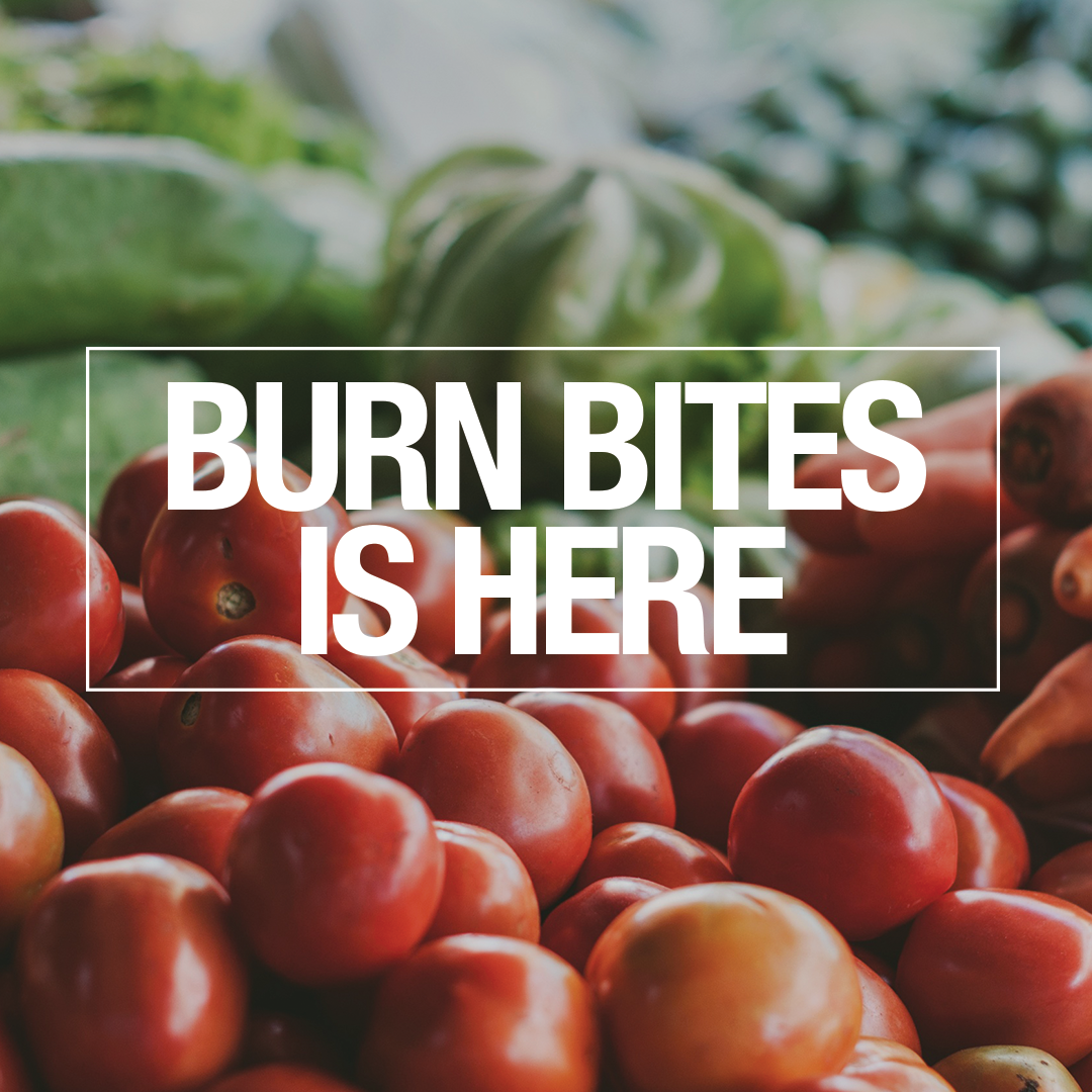 Download the Burn Bites E-Cookbook: a collection of trainer and client inspired recipes