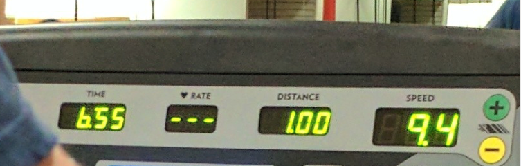 Hard work pays off and Tana is hitting a sub 7:00 min mile at 6am!Talk about starting your day offat maximum speed.She inspires us all.