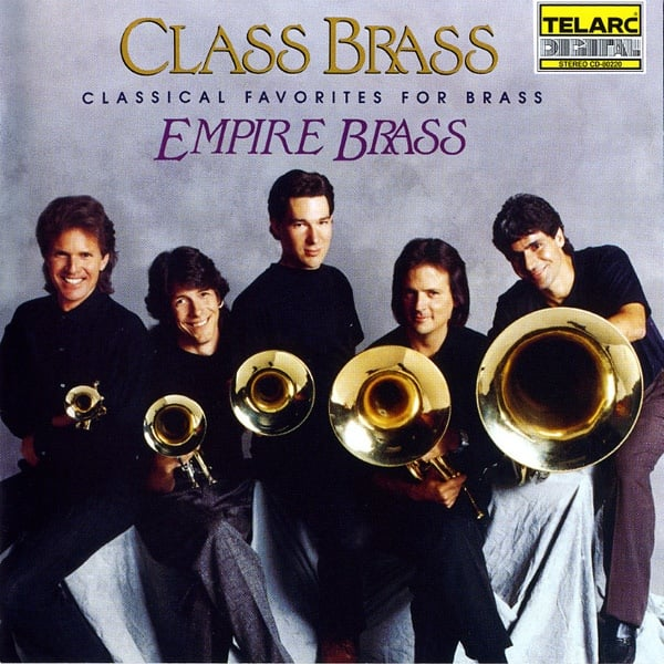 One of the great brass quintet albums of all time.