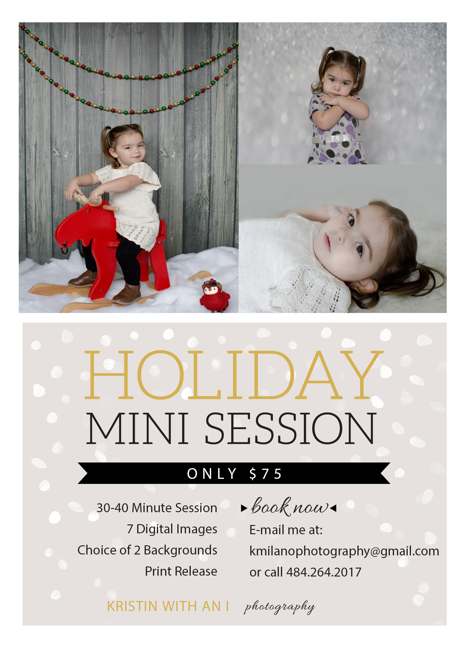 Kristin with an I Photography is a Lehigh and Northampton County Child Photographer who enjoys Lehigh and Northampton County Child Photography. To book your 2014 Holiday Mini Session, please contact Kristin at kmilanophotography@gmail.com