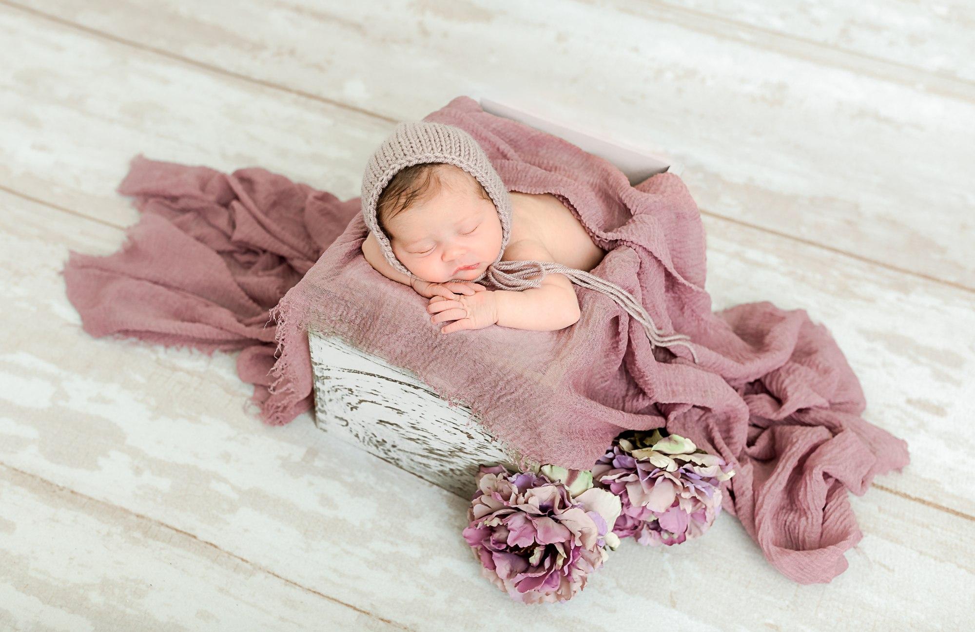 Whitehall Newborn Photographer Baby GIrl