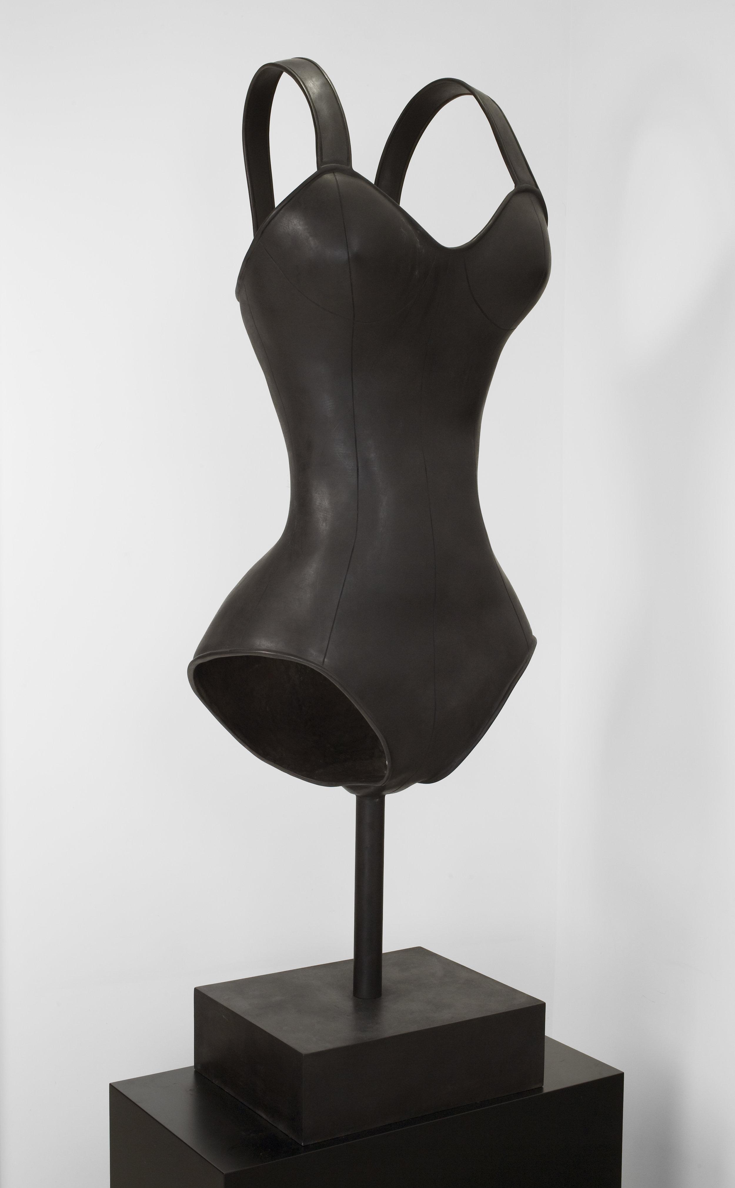 Body Armor , 2010  Bronze  55 x 28 x 22 inches