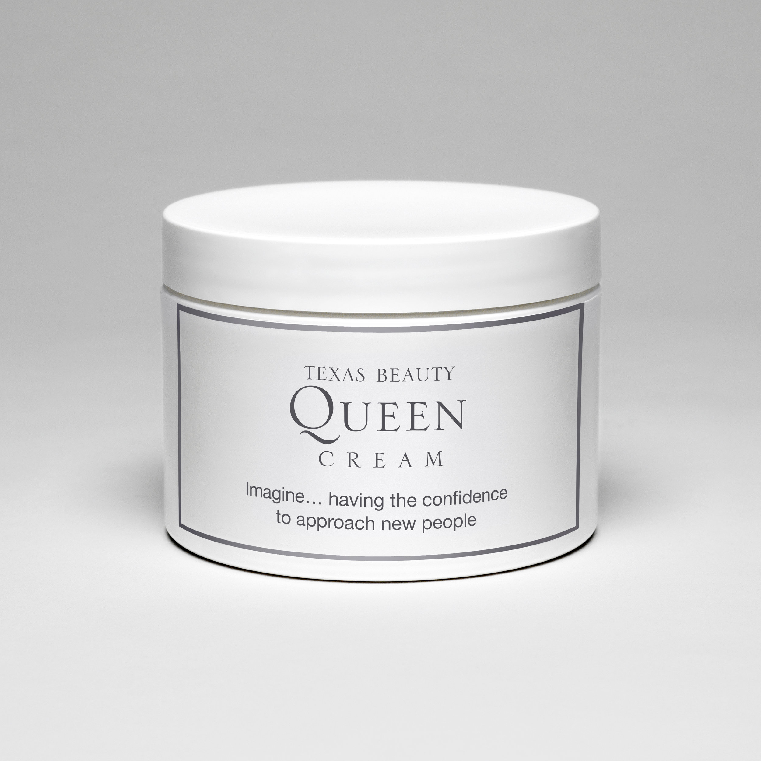 Texas Beauty Queen Cream (Imagine…having the confidence to approach new people) , 2009  Archival photographic print  12 x 12 inches