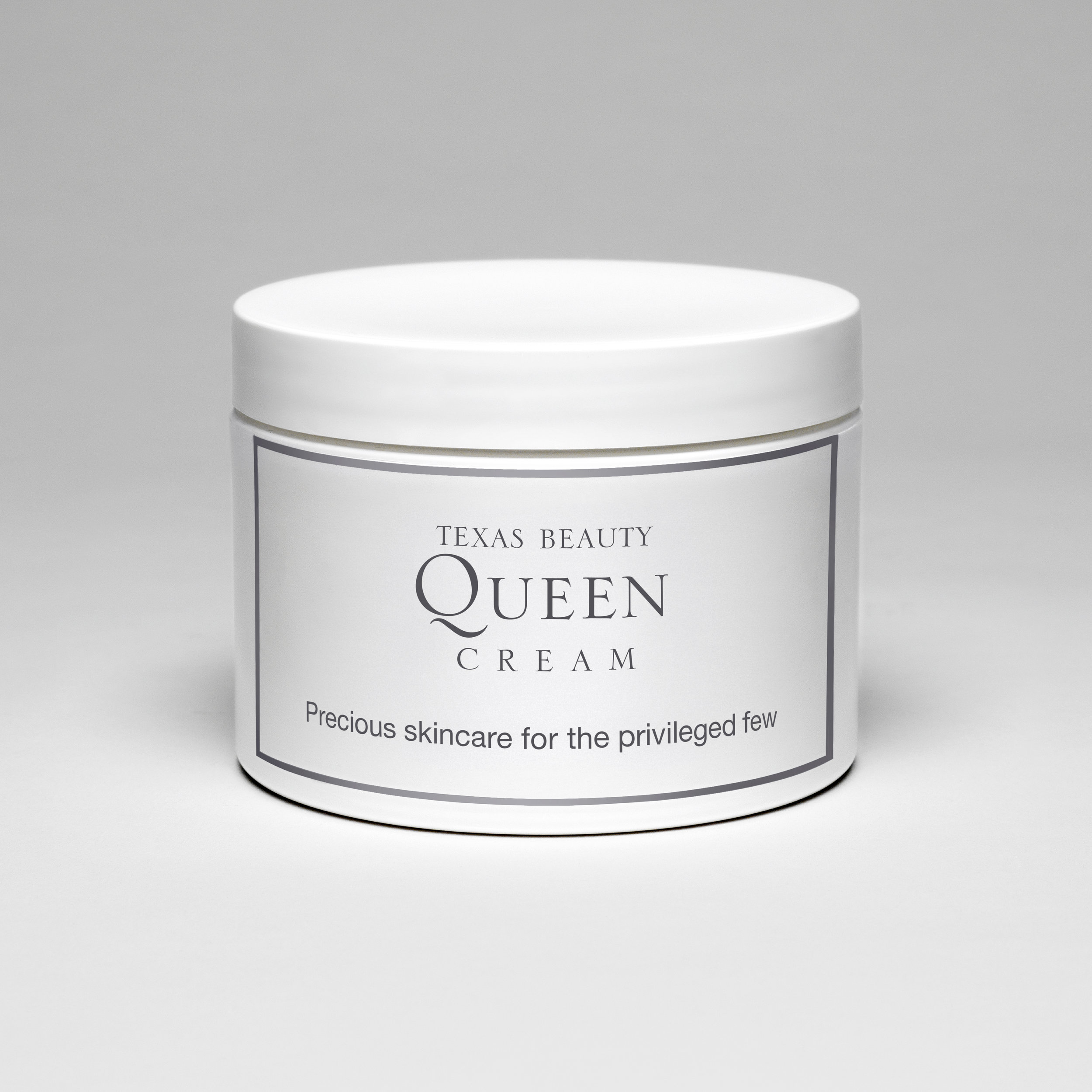 Texas Beauty Queen Cream (Precious skincare for the privileged few) , 2009  Archival photographic print  12 x 12 inches