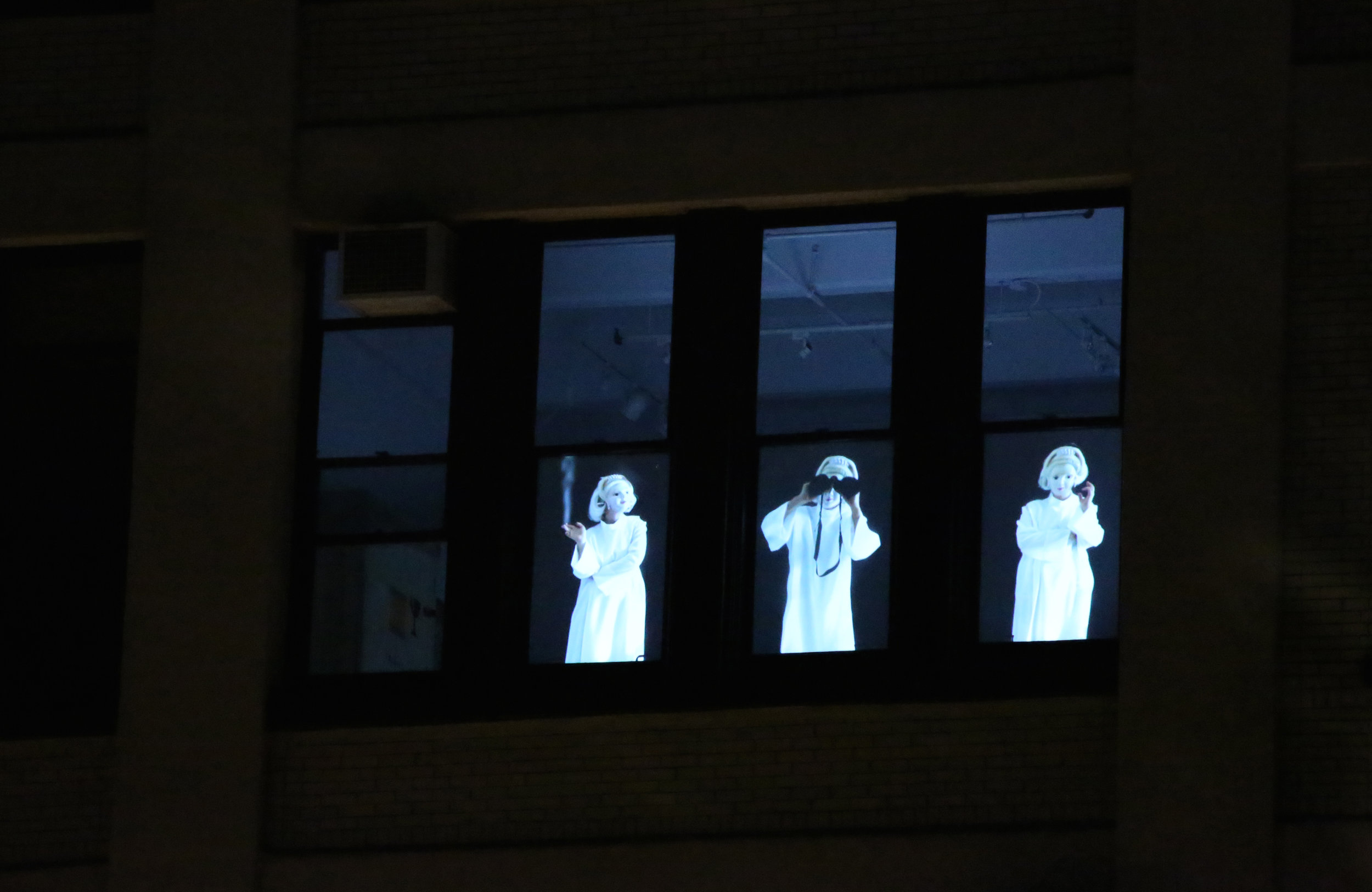 C.R.E.E.P.S. , 2014  Video projection installation  Run time: 6 minutes, 54 seconds