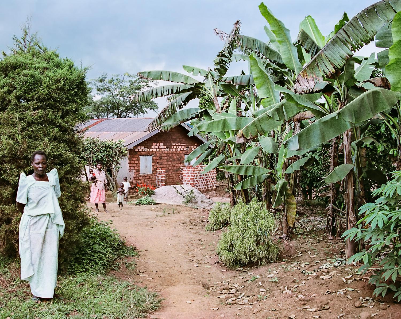 Outskirts of Kampala, Uganda