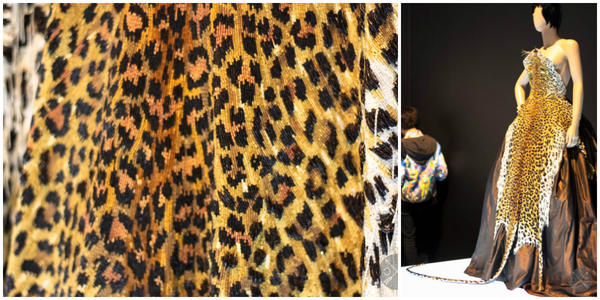 Look closely, not an animal hide but incredible intricate beading work.  Photo by www.culturalchromatics.com