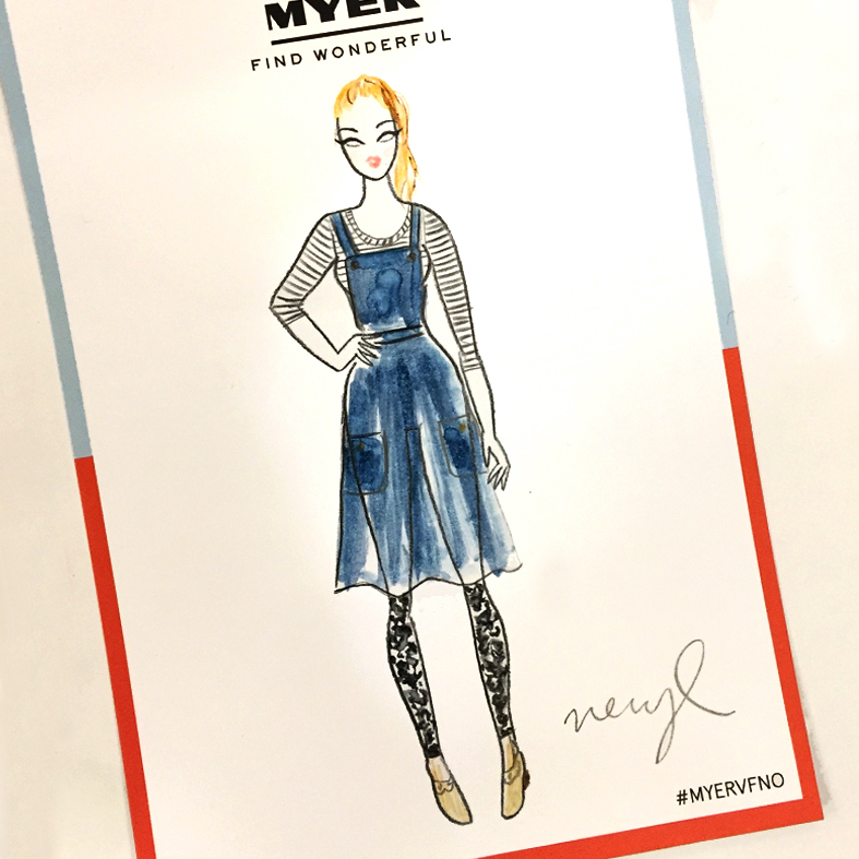 fashion illustration myer vogue