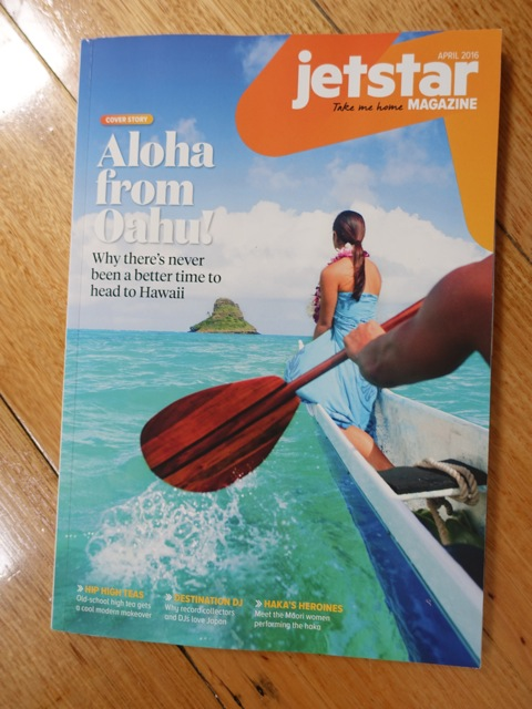 Jetstar magazine Hawaii
