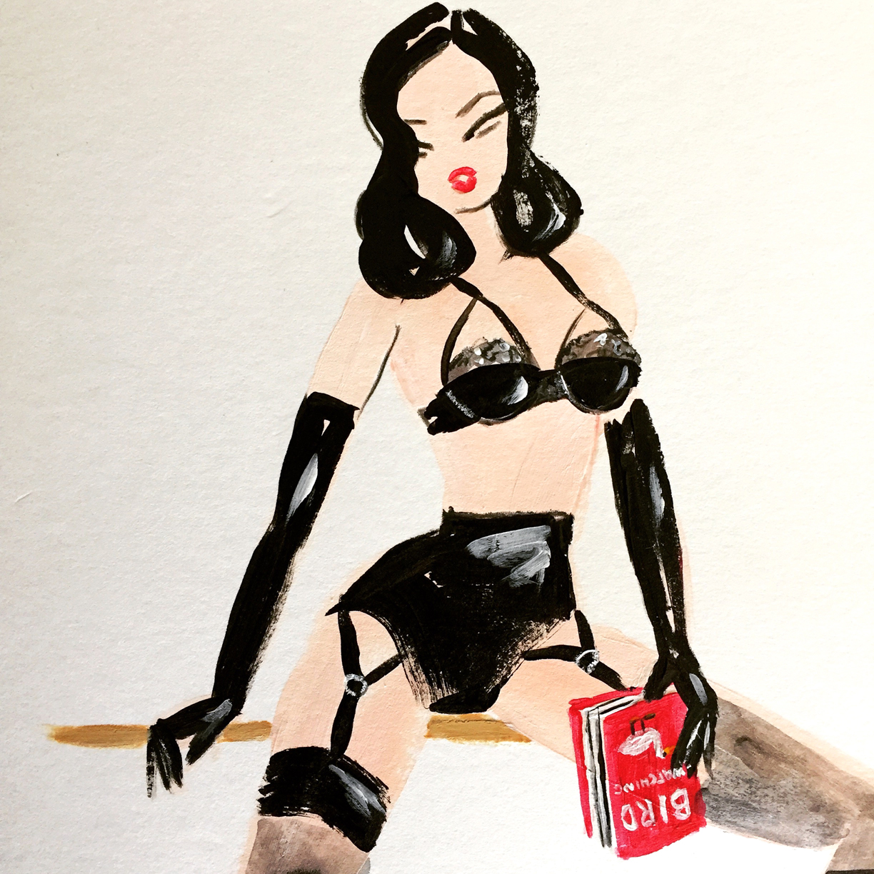Dita Von Teese by Neryl Walker