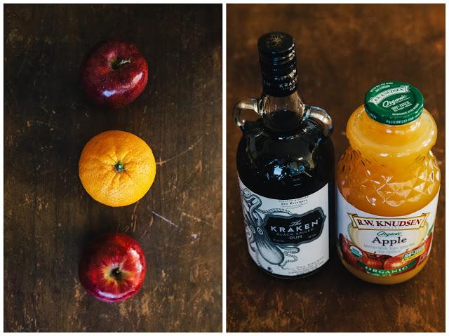 dark rum apple cider