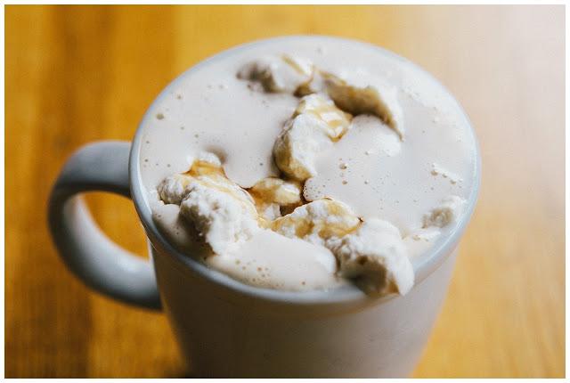 maple whipped cream coffee