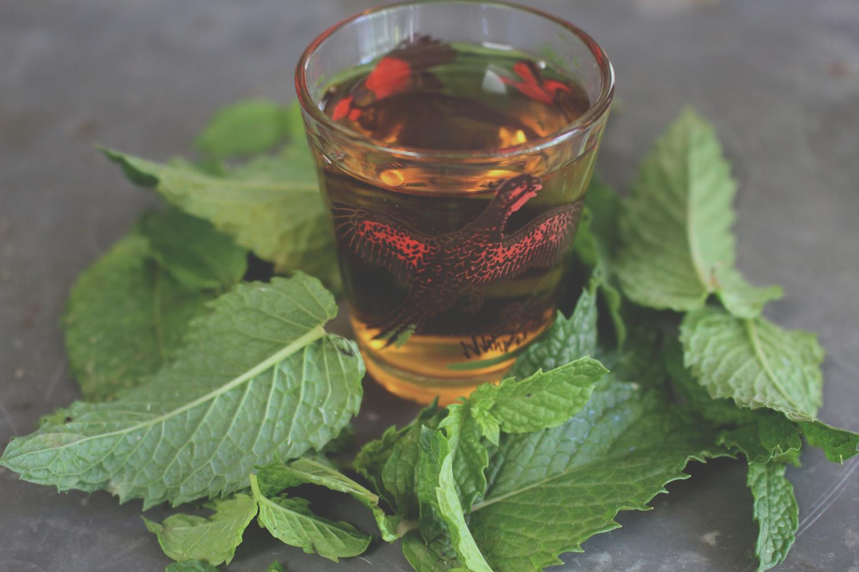 Bourbon & Mint