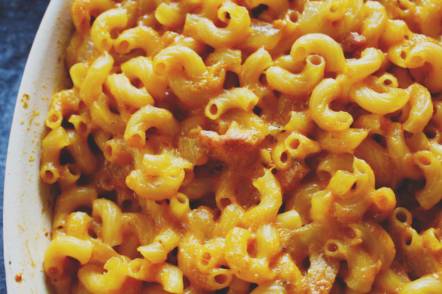 Sriracha Bacon Mac & Cheese