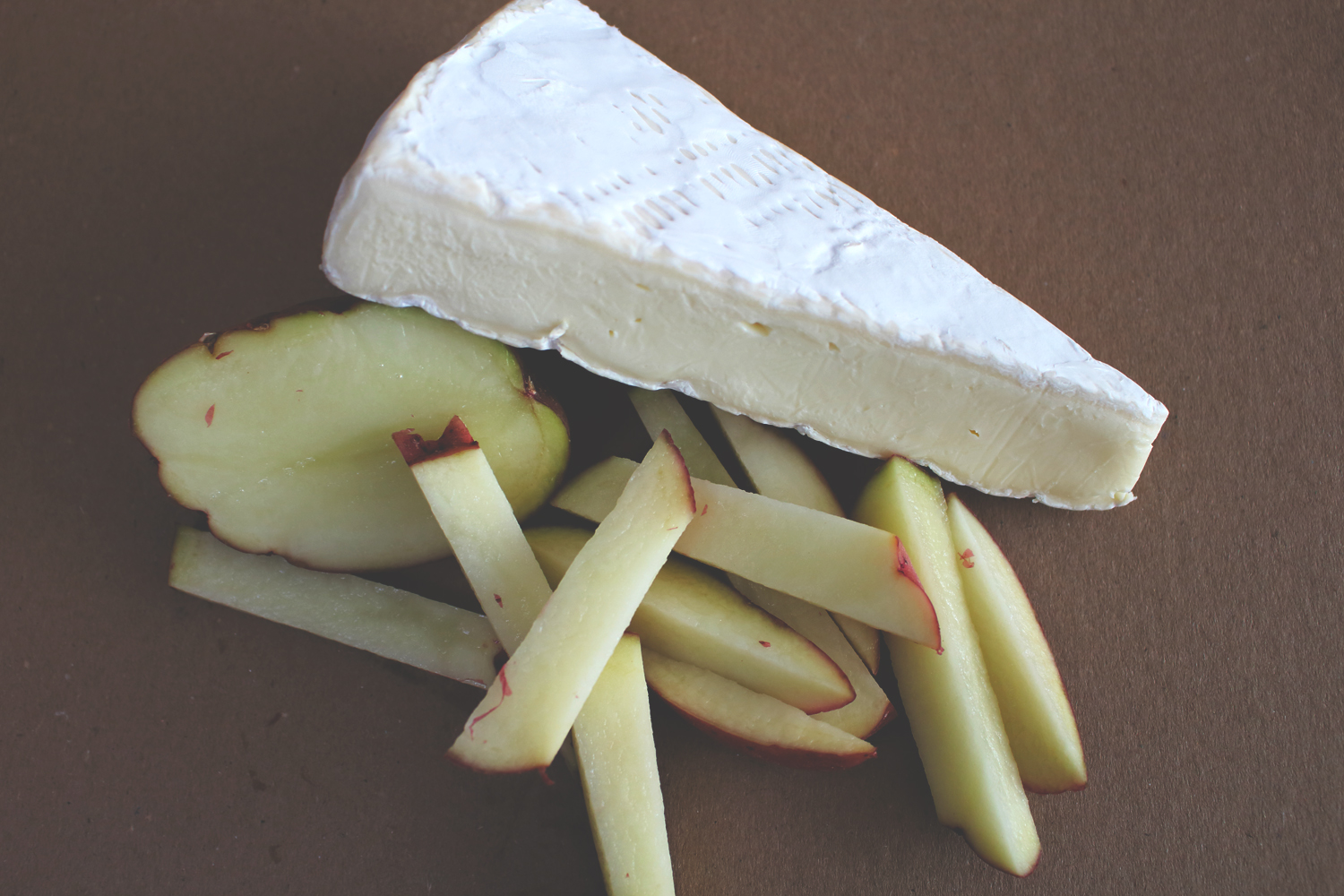 Brie on Potatoes