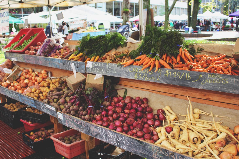 PSU Farmer's Market Carrots