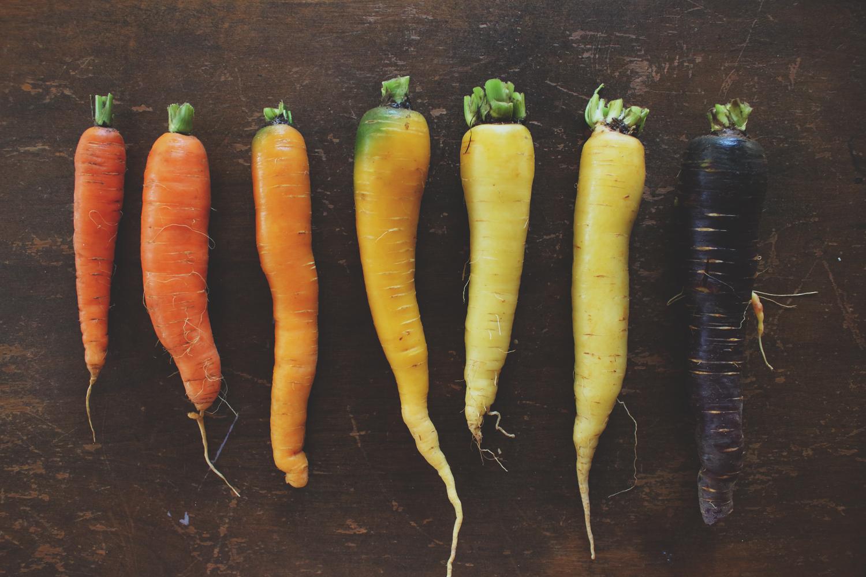 Rainbow of Carrots