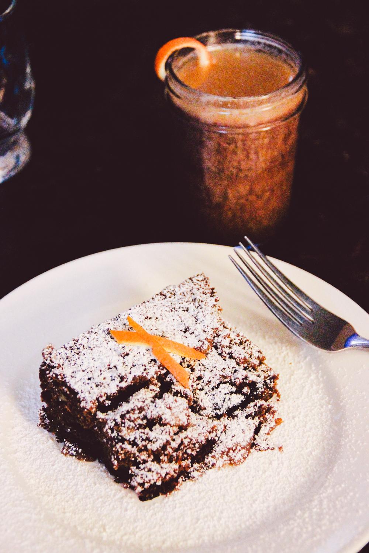 Hot Buttered Rum & Fruitcake
