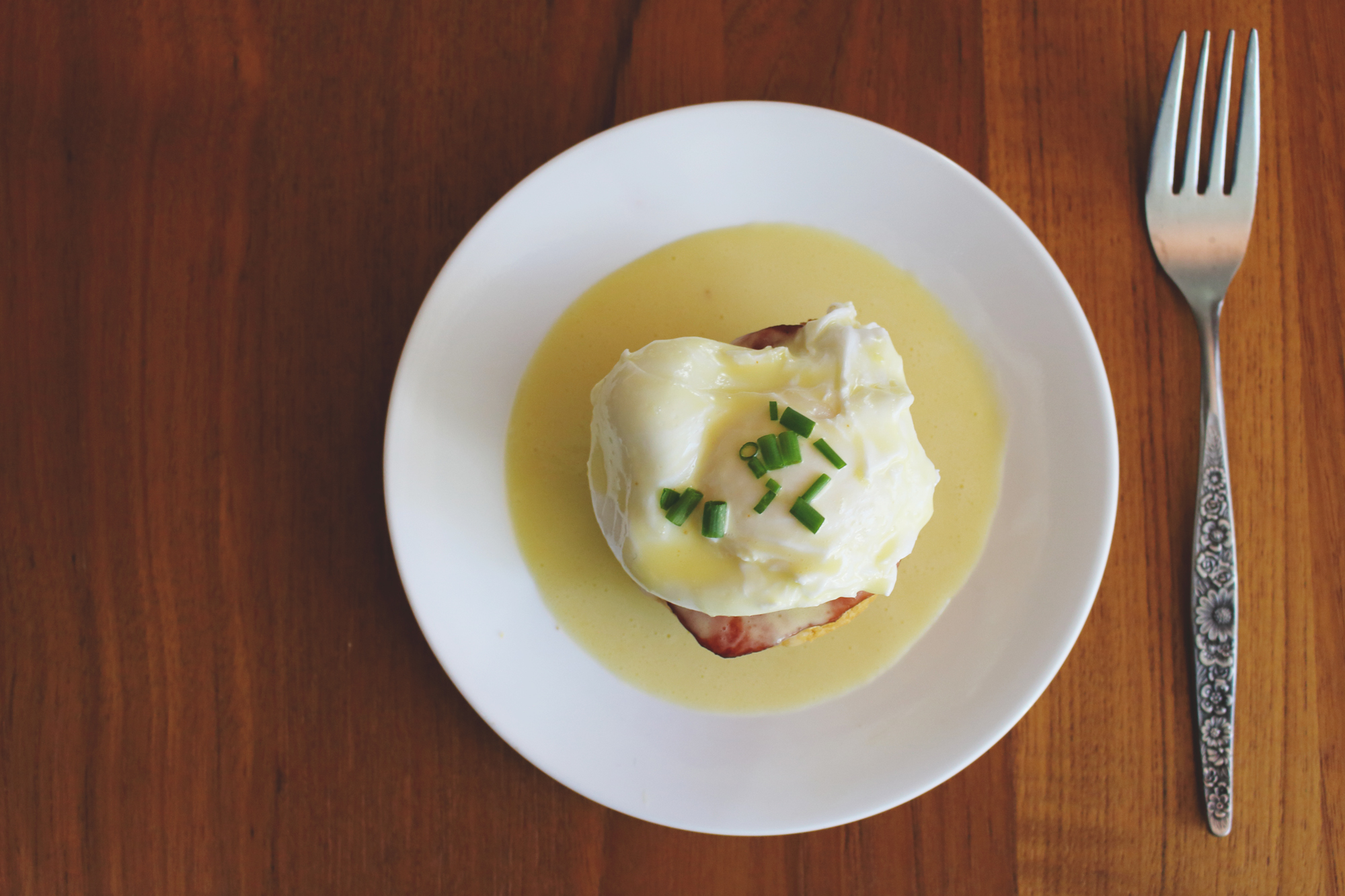 Cornbread Eggs Benedict
