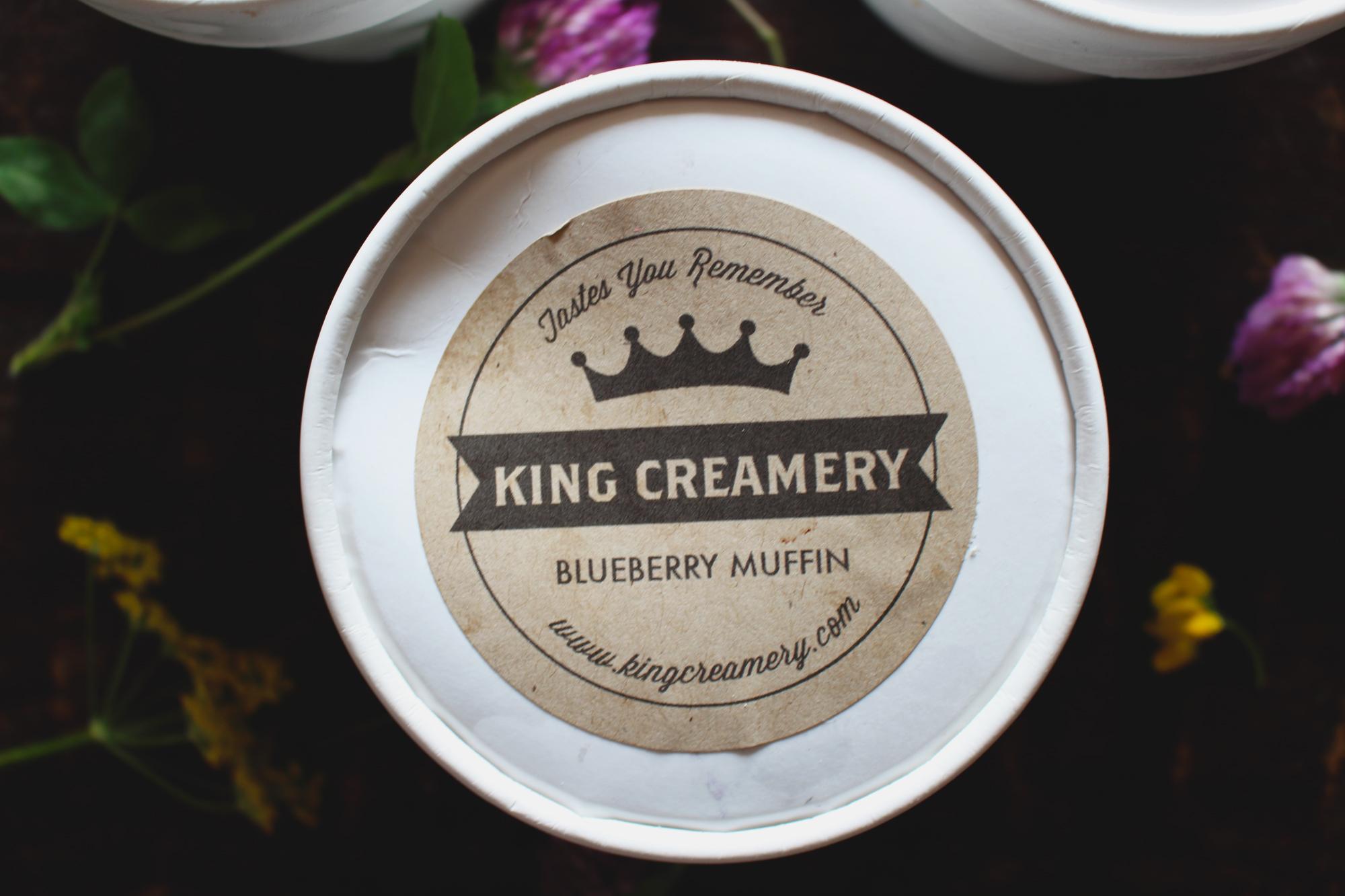 Blueberry Muffin Ice Cream