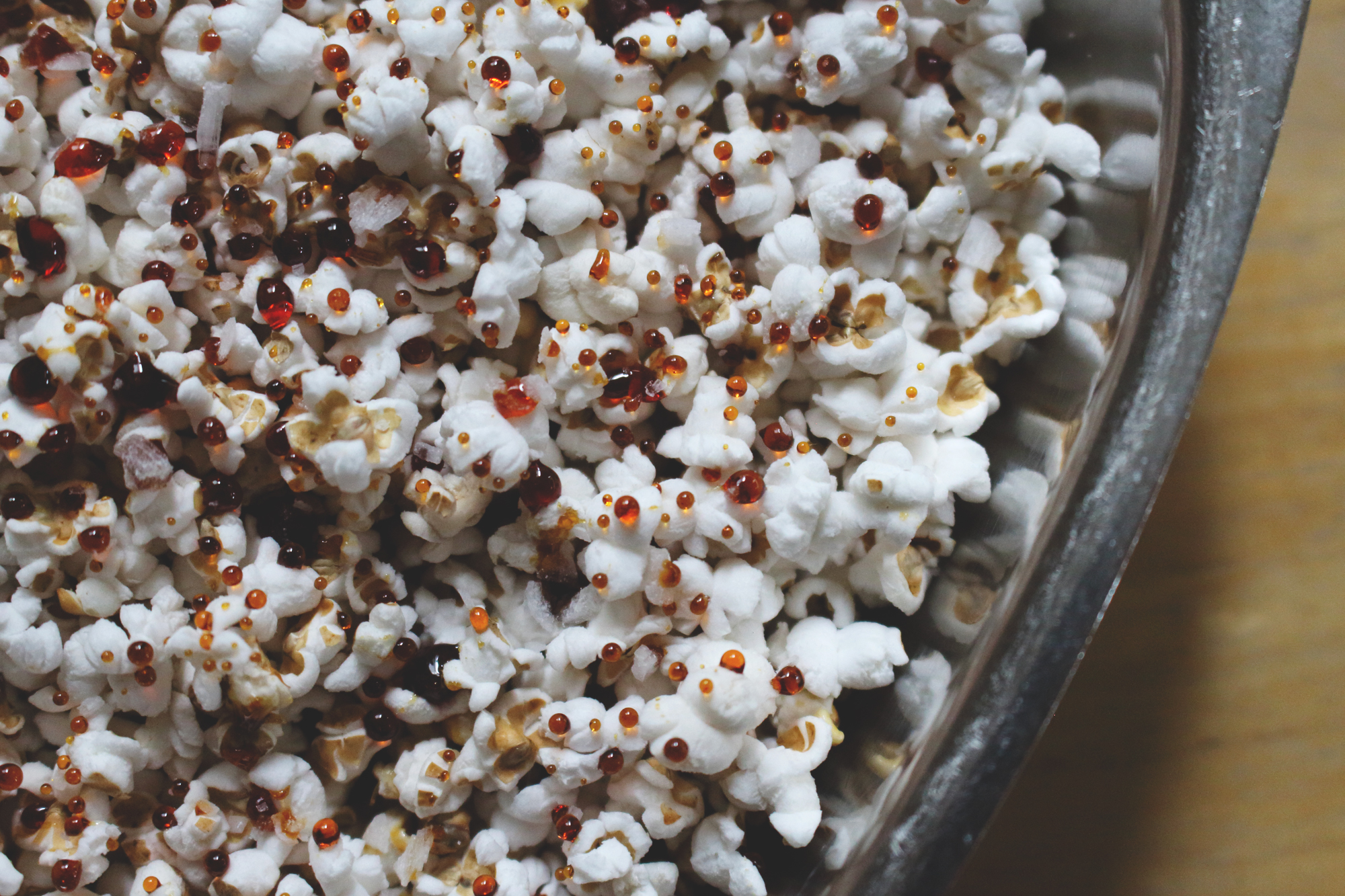 Popped Sorghum with Sorghum