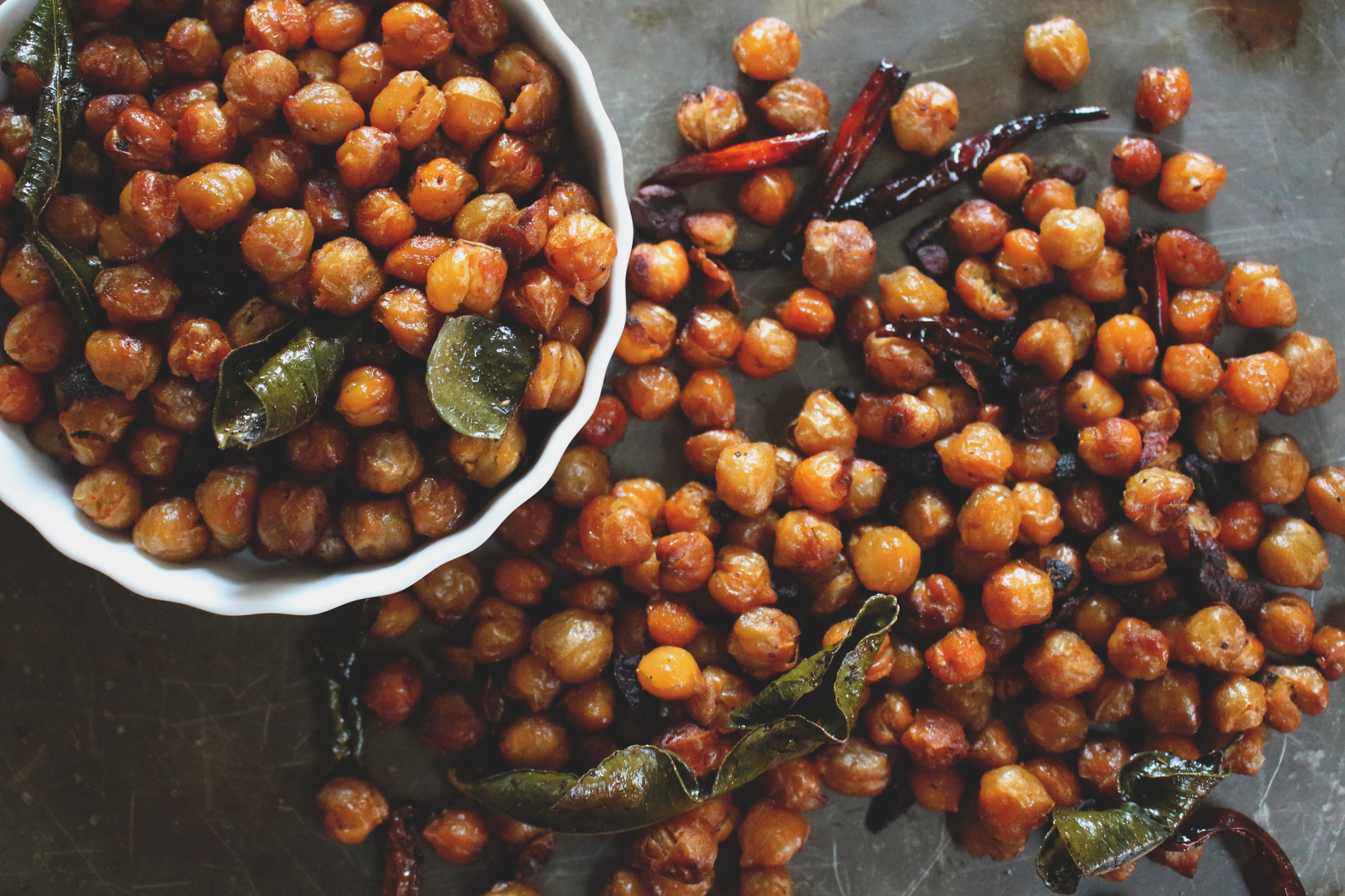Thai-Spiced Roasted Chickpeas