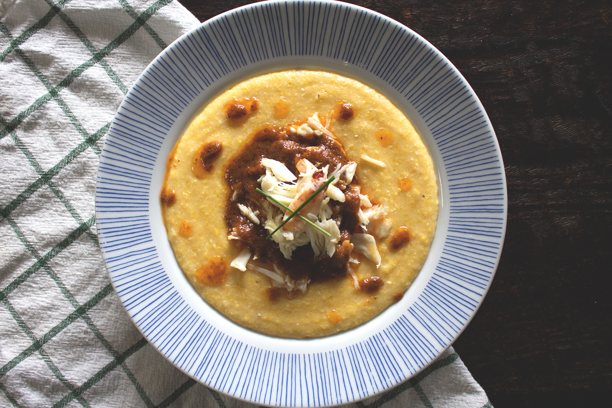Dungeness Crab and Grits