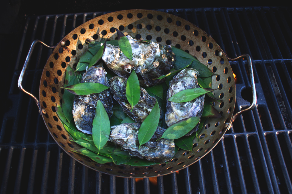 Myrtlewood Grilled Oysters