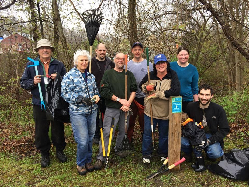 Riverwalk Rail Trail Cleanup
