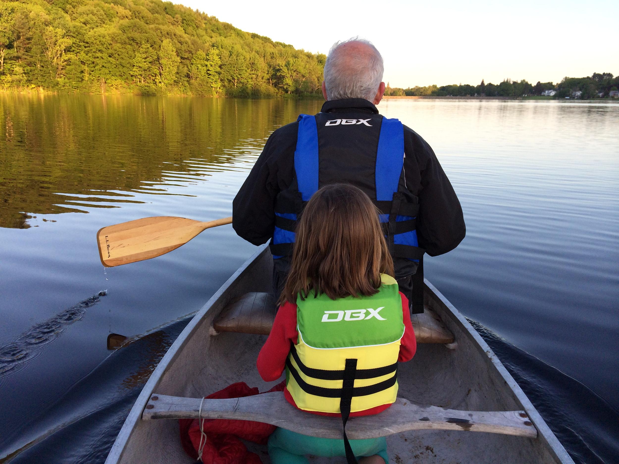 Lake Gardner by Canoe