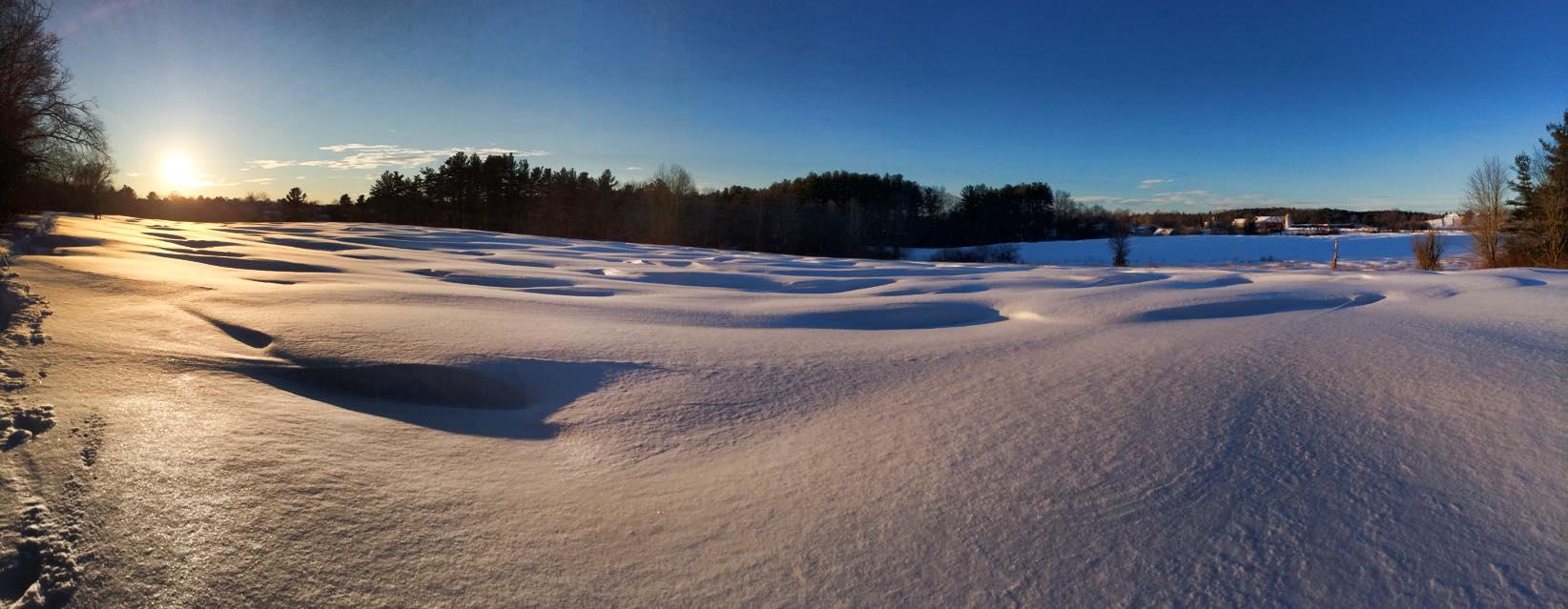 Battis Farm in the Winter